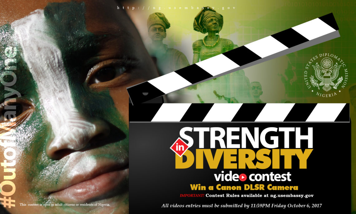 Strength in Diversity Online Video Contest For Nigerians by U.S. Embassy