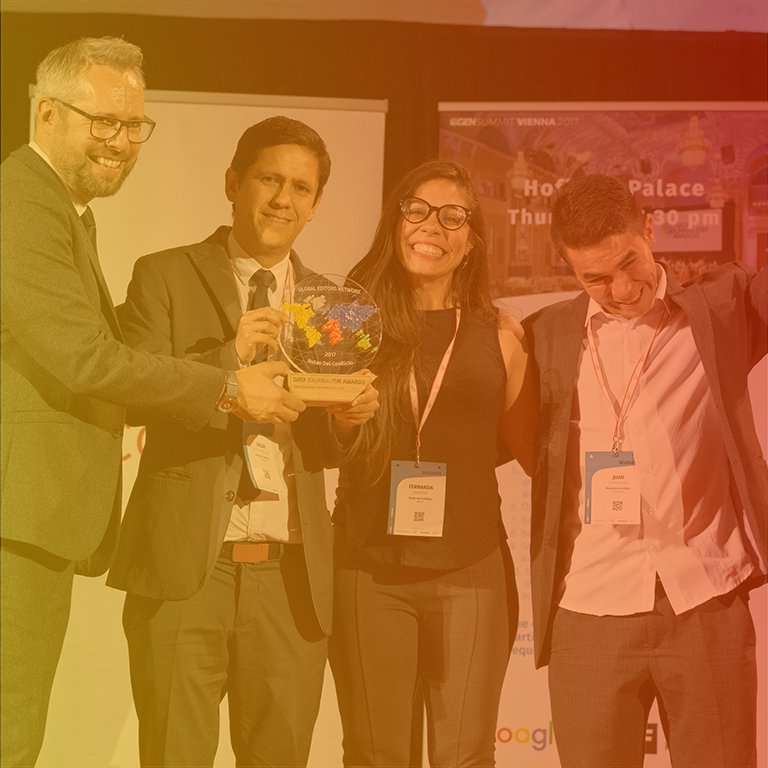 The Data Journalism Awards 2018 competition (Lisbon)