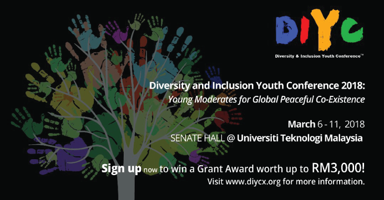 Diversity and Inclusion Youth Conference, Malaysia 2018 (Funded)