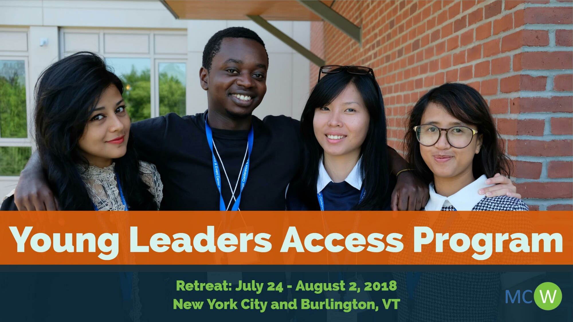 (Fully Funded) MCW Young Leaders Access Program USA 2018