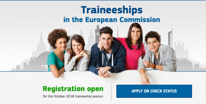 European Commission Paid Traineeship 2018 for University graduates worldwide 2018 —Brussels,Belgium