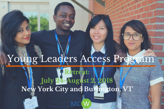 2018 Young Leaders Access Program Mentor Application, New York (Fully Funded)