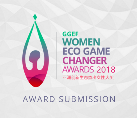 CALLING FOR ALL WOMEN ECO GAME CHANGERS, NOMINATION FOR 2018 AWARDS ARE NOW OPEN!