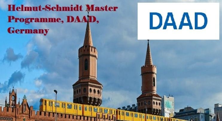 DAAD Helmut-Schmidt-Programme (Master's Scholarships For Public Policy And Good Governance) 2019