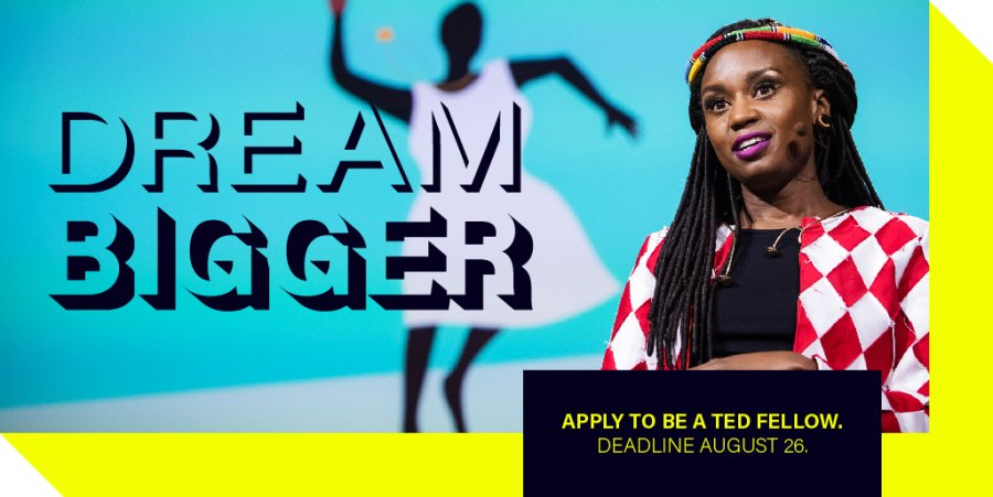 Apply now to be a TED 2019 Fellow (Fully Funded to Vancouver, Canada)