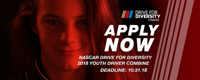 The NASCAR Drive For Diversity Youth Driver Program 2019 in the United States