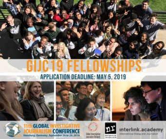 Global Investigative Journalism Conference (GIJC) 2019,(Fully Funded
