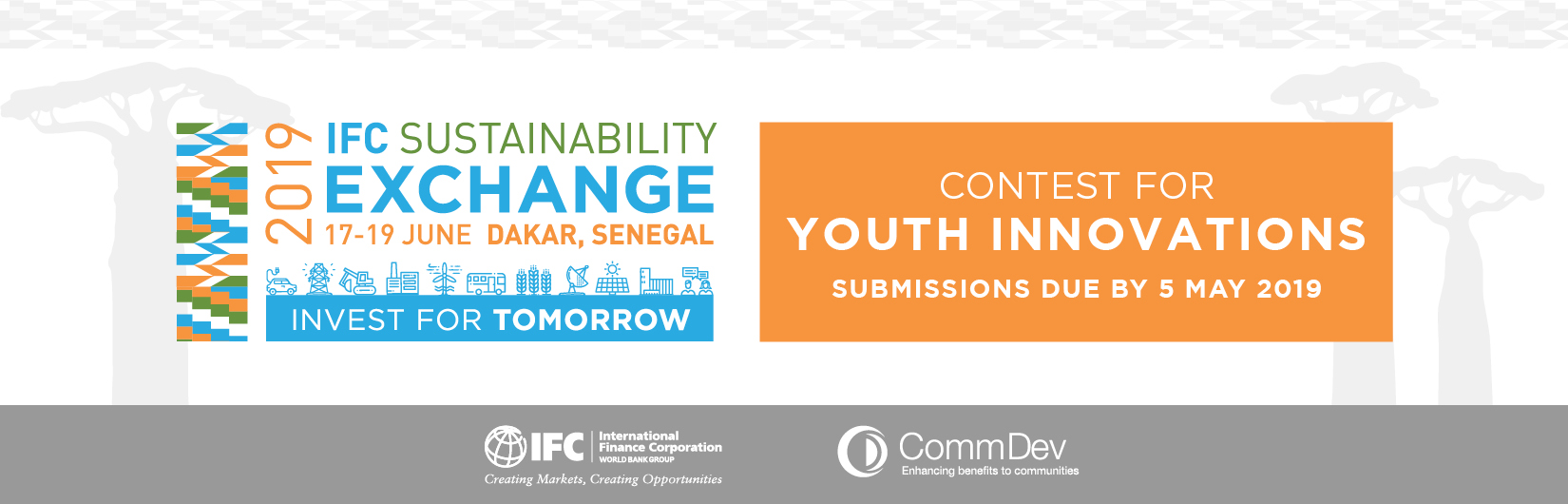 IFC Sustainability Exchange Contest for Youth Innovations
